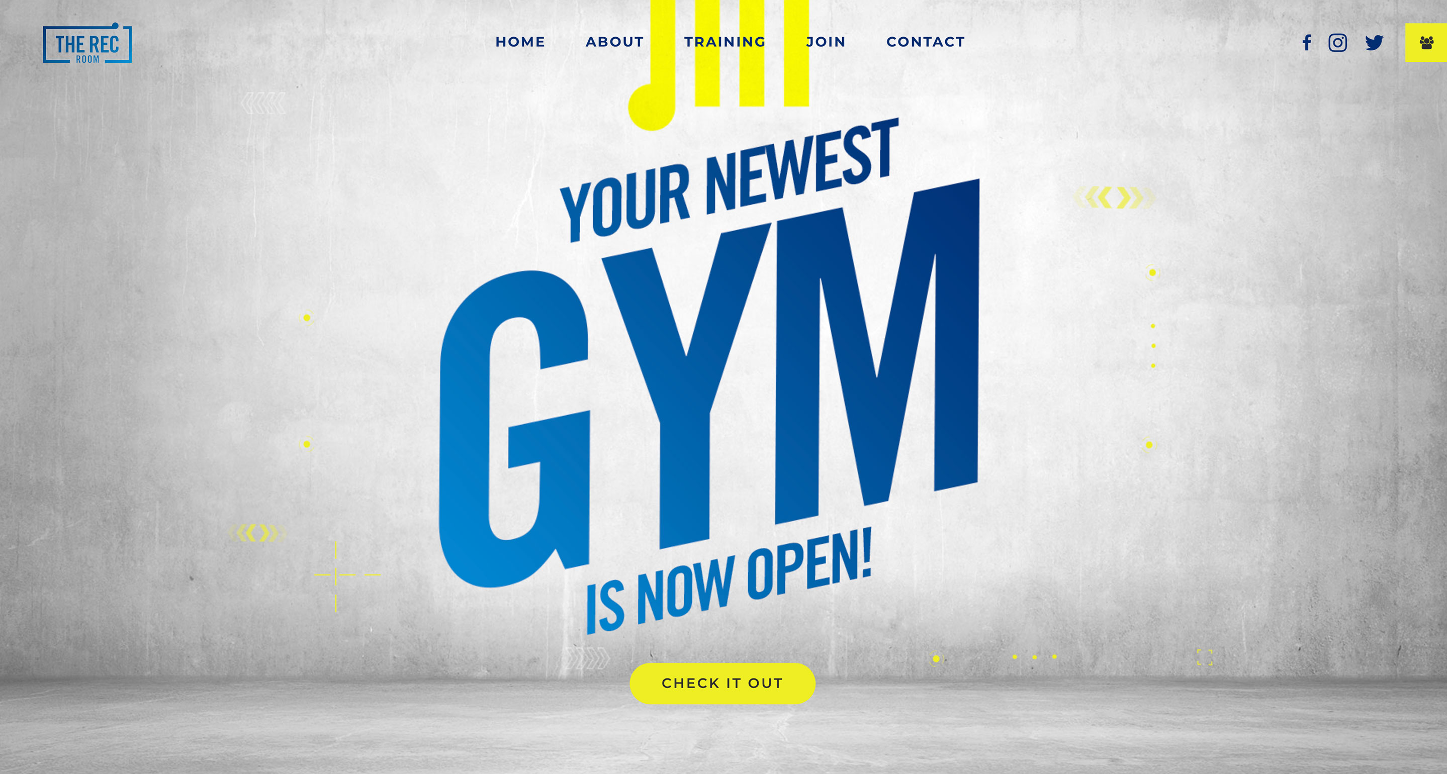 Home the rec room your gym your space!